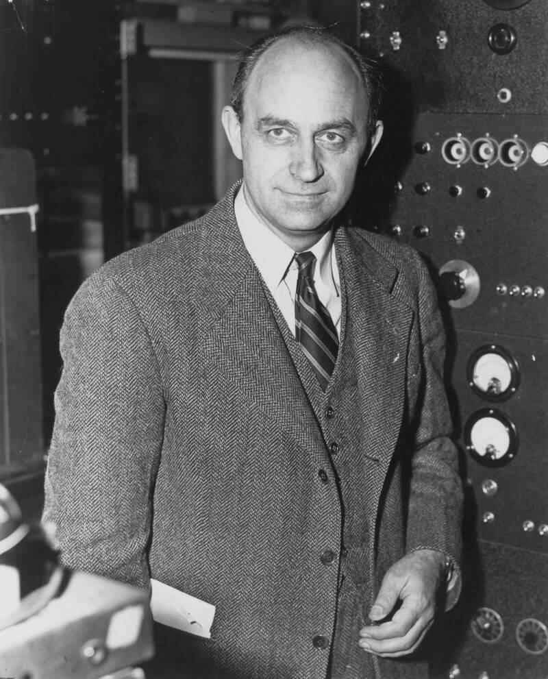 Enrico Fermi, who allegedly helped build the Chronovisor, won the Nobel Prize in physics in 1938.