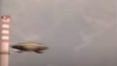 Footage of Alleged UFO Filmed In Pordenone, Italy Shows Lighting Fast Departure