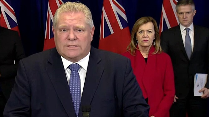 Ontario, Canada To Enter Third COVID Lockdown Issuing A Stay At Home Order