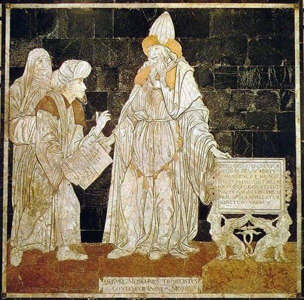 Hermes Trismegistus.