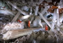 Jules Verne's Massive Crystals Are Real And Located 300 Meters Beneath A Mexican Desert