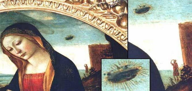 A Hidden Message: Do these 15th Century Paintings Show Evidence of UFOs?