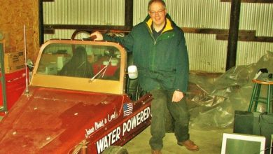 The Inventor of a Water-Powered Car That Died In A Restaurant Yelling 'They Poisoned Me'