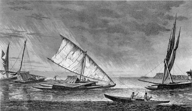 Cook's voyages likely brought him close to Antarctica, though not close enough to have actually seen the continent (Public Domain).