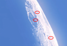 """Image Scientist Analyzes Video of Three """"Very Large"""" Objects Seen Flying Around The Moon"""