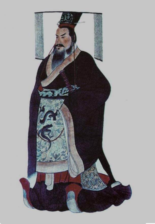 Qin Shi Huang, the first emperor of China. (Public Domain)