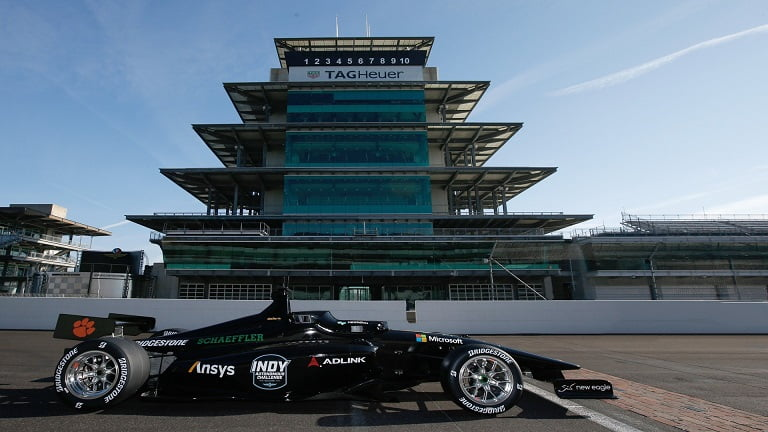 Autonomous Race Cars To Compete At Indianapolis Motor Speedway