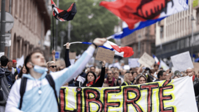 France: Over 100,000 Rally In Opposition To COVID Immunity Passports